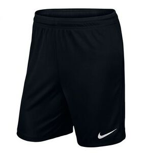 Nike-Herren-Training-Freizeit-Fussball-Dri-FIT-Shorts-PARK-II-KNIT-Short-Schwarz