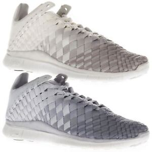 b21dbd50b55a Nike Women s Free Inneva Woven Low Top Running Sports White Beige ...