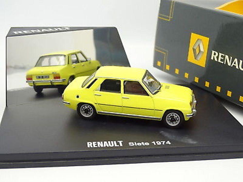 RENAULT SIETE 7TL 1975 YELLOW IXO MODEL 7711420110 1 43 7 TL yellow yellow