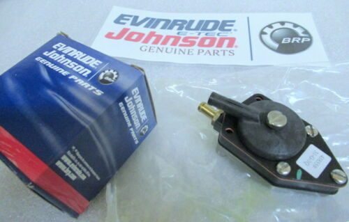 E78 Evinrude Johnson OMC 0438559 Fuel Pump Assembly OEM New Factory Boat Parts
