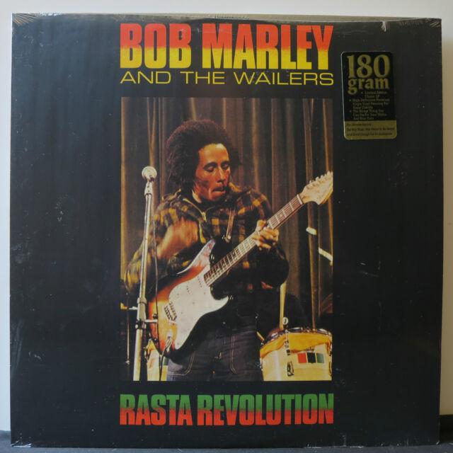 BOB MARLEY & THE WAILERS 'Rasta Revolution' 180g Vinyl LP NEW & SEALED