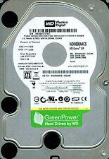 WESTERN DIGITAL SATA 500GB WD5000AACS-00ZUB0,  DBRNNT2MBB