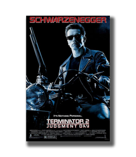 Terminator 2 Judgment Day Classic Hot Movie Series Fabric Poster Art TY721-36In
