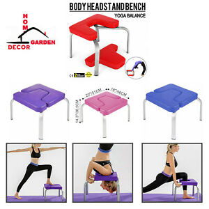 yoga chair headstand bench inversion trainer stand home
