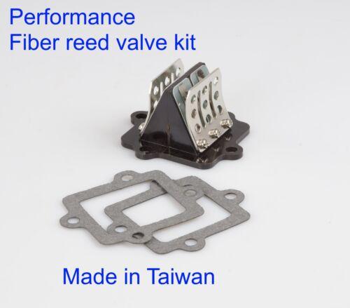 sports type Fiber reed valve Polaris 2 Stroke Predator 50 90 Scrambler 50 90 US