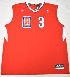6904000eb45 Adidas Chris Paul LA Clippers  3 Men s 2XL XXL NBA Replica Road ...