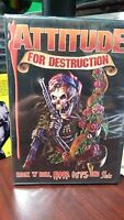 Attitude For Destruction Dvd Rock N Roll Hollywood Roses Blood Guts & Sluts
