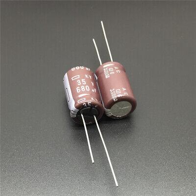 5pcs 680uF 35V 12.5x20mm NCC Nippon KY 35V680uF Low ESR Long Life Capacitor