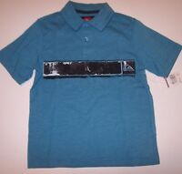 Quiksilver Polo Collar Shirt Little Boys Boy Sz 2t Or 3t Or 4t Blue Black