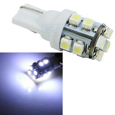 2pc White DC 12V T10 168 194 12 LED 1206 SMD Car Auto Lamp Side Wedge Light Bulb
