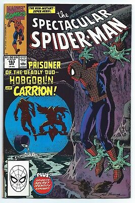 1990 Marvel Comics The Spectacular Spider-Man #163 ...
