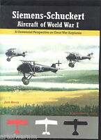 Siemens-schuckert Aircraft Of Wwi By Jack Herris Sb (aeronaut Press)