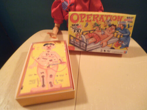 Barbie 1:6 Furniture Handmade Miniature Game OPERATION