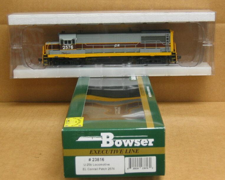 Bowser 23816 HO Executive Line, EL  CR patch  U25b  2576, DCC/Tsuami Sound