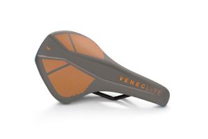 Natural Fit Fahrrad Sattel Venec LITE X Actionteam Orange//Grau