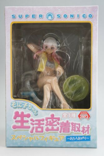 SUPER SONICO SPECIAL FIGURE AFTER TAKING BATH FURYU 2014