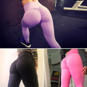 Sexy-Women-YOGA-Sports-Pants-Hip-Push-Up-Leggings-Fitness-Workout-Stretch-New