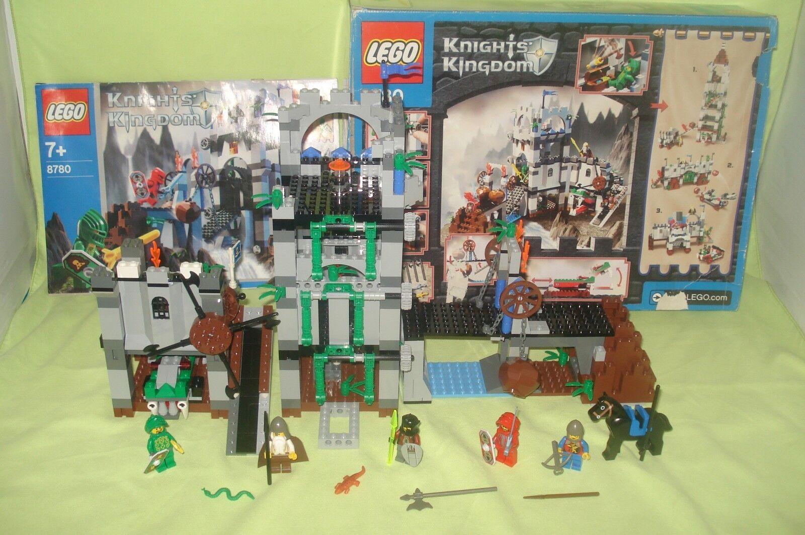 lego knights kingdom 8780 , citadel of orlan, boite boite boite et notice 59bec3