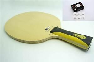 XVT ZL-HINOKI TABLE TENNIS BLADE + FREE TABLE TENNIS PLASTIC BALL ( 3 STARS )