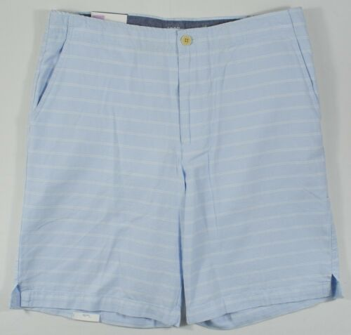 """Izod Saltwater #8076 NEW Men/'s Relaxed Classics Flat Front 9.5/"""" Inseam Shorts"""