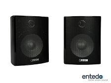 2 Sat Lautsprecher vom Canton Movie 125 MX (Schwarz) Speaker Boxen Heimkino NEU