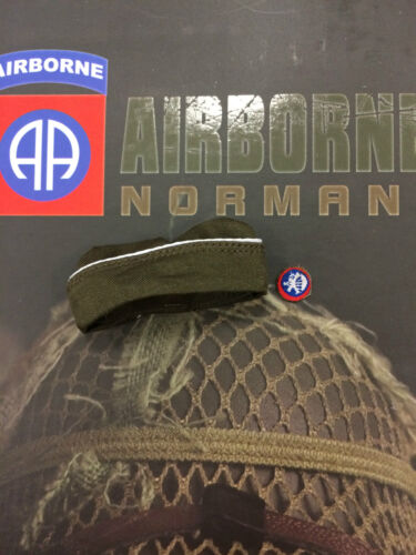 """Soldier Story 82nd Airborne Normandy 12/"""" Dress Cap loose 1//6th scale"""