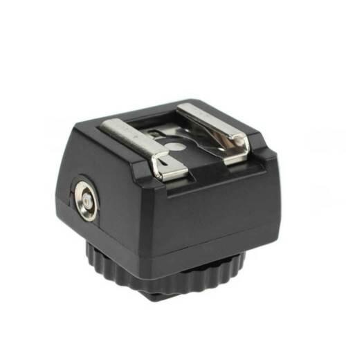 Adattatore flash per standard ISO aufsteckblitz a SYNC Connettore
