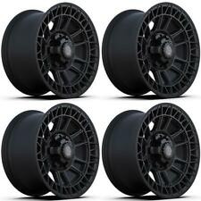 17 Inch Black 4ps12 Wheels Set 4 For Gmc Ford Chevy Ram Toyota 4play