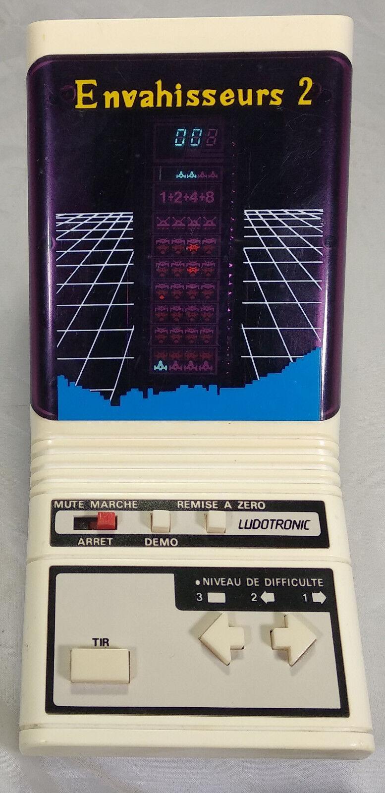 LUDOTRONIC HANZAWA ENVAHISSEURS 2 - Electronic Game Game Game LSI   Tabletop 1982   V2 881c8d