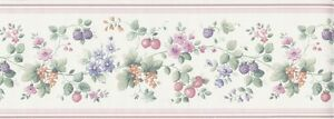 Wallpaper-Border-Country-Fruit-amp-Floral-Vine