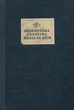 DOUGLAS C-47A DAKOTA - ONDERHOUDS HANDBOEK KLM / 1947