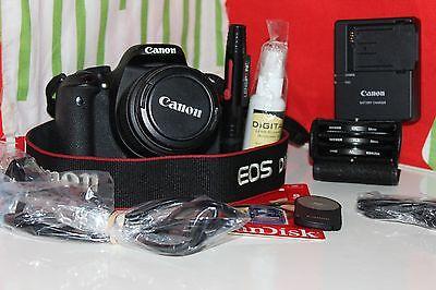 Canon EOS Rebel T3i / EOS 600D 18.0 MP Digital SLR Camera - Black (Kit w/ EF-S I