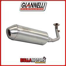 52621IPR SCARICO COMPLETO GIANNELLI G-4 YAMAHA XCITY 250 2010- INOX/INOX
