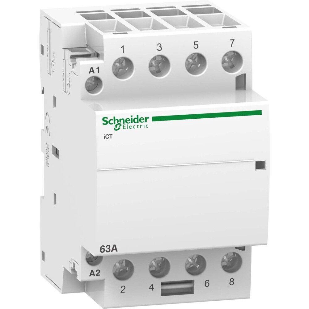 Schneider Electric A9C20864 InsGrößetionsschütz 4S 63A 220-240VAC | Online Kaufen