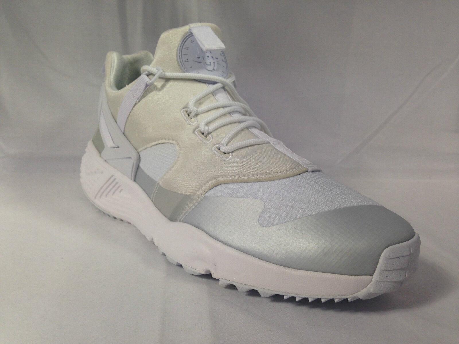Mens Nike Air Huarache Utility White/White 806807 100 Sizes: _9_11_12