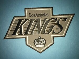 Rare-Gretzky-Era-Los-Angeles-Kings-Hockey-Jersey-Shoulder-Hipster-Jacket-Patch-A