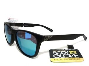 b0ec636f9c Image is loading BODY-GLOVE-G9978-POLARIZED-SUNGLASSES-BLACK-BLUE-MIRROR-