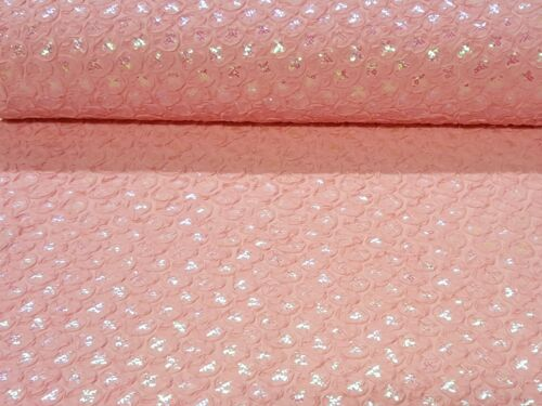 Pailletten Baumwolle Jersey Stoff Glitzer Glanz Stoff glänzend Bekleidung Deko