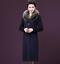 Winter-Elegant-Women-Cashmere-Wool-Blend-Trench-Overcoat-Fur-Collar-Long-Coats thumbnail 4