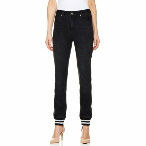 DG2 Sporty Skinny Jean with Rib Knit Hem 310157-JA