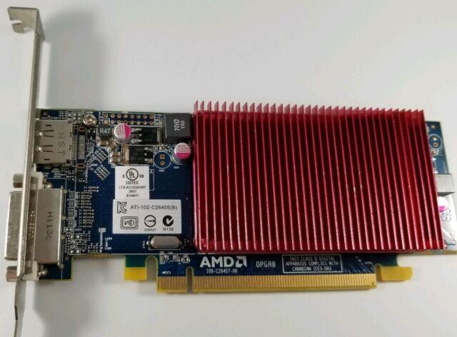 ASUS EAH6450 SILENT//DI//1GD3 1GB Graphics card LP