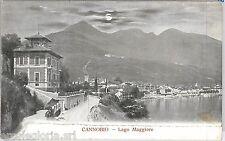 55752 -- CARTOLINA d'Epoca - LAGO MAGGIORE:  Cannobio  1920