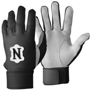 Neumann-LB-Pro-Linebacker-Football-Gloves-Padded-Tack-field-NCAA-Black-or-Gray