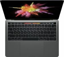 "New Custom MacBook Pro 15.4"" Touch Bar 5.5CT Diamond 18K Solid Gold Red Black"