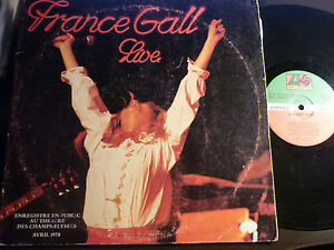 FRANCE-GALL-LP-ATLANTIC-LIVE-AVRIL-1978
