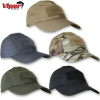 VIPER ELITE BASEBALL HAT RIPSTOP AIRSOFT SECURITY ARMY CADET OPERATOR CAP ID