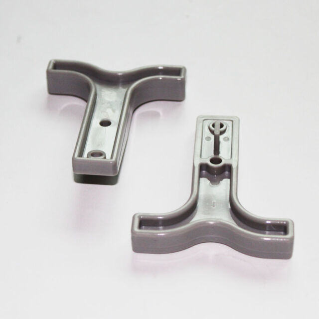 2pcs Gray Handle for Battery Quick Connect Disconnect Plug Connector Boat Track