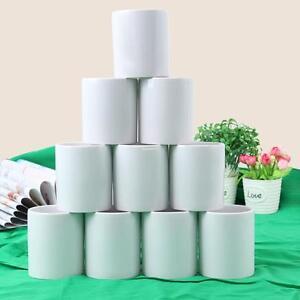 36er-Set-Porzellan-Kaffeebecher-Profi-11OZ-weiss-stapelbar-Becher-Tasse-Pott