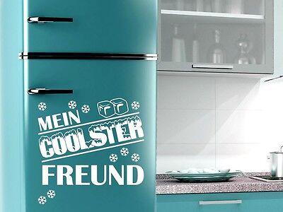 Tattoo Wandaufkleber Wanddekoration für Kühlschrank Spruch Mein coolster Freund