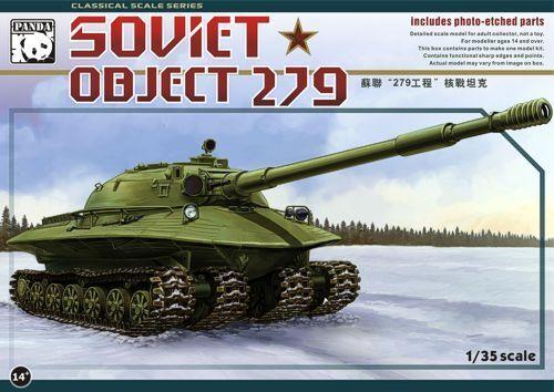 Panda 1 35 Russian Tank Object 279